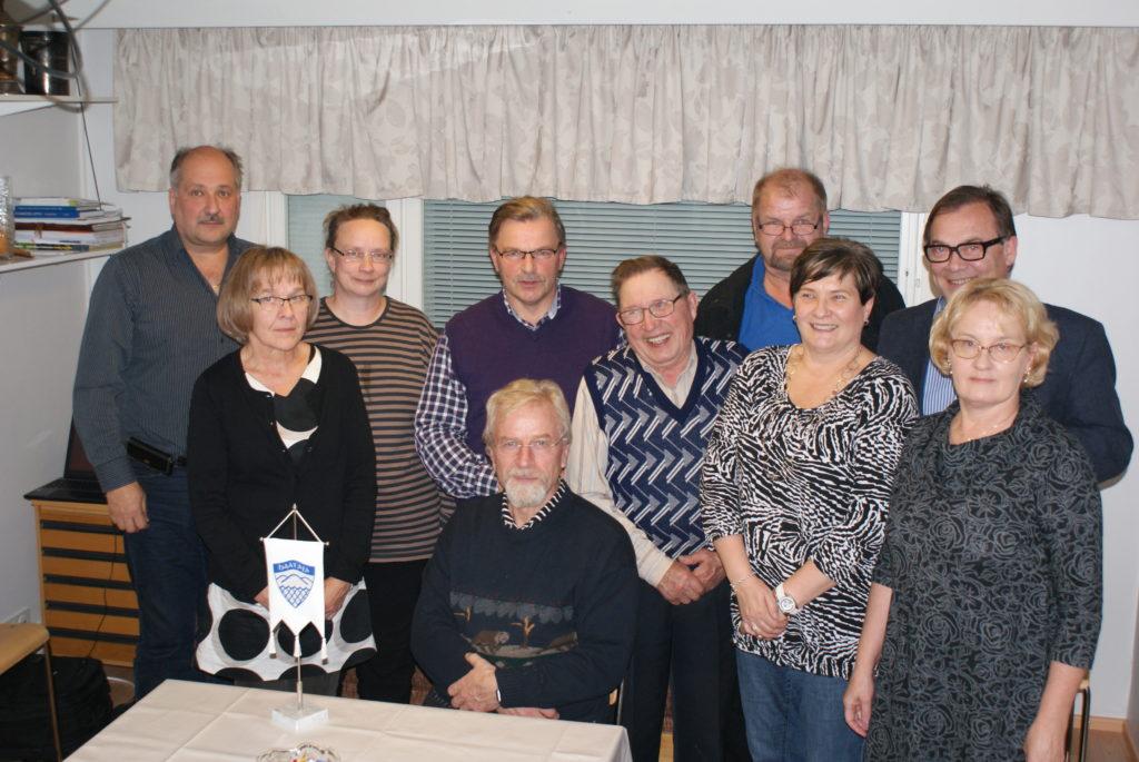 Sukuneuvosto kokouksessa Kajaanissa