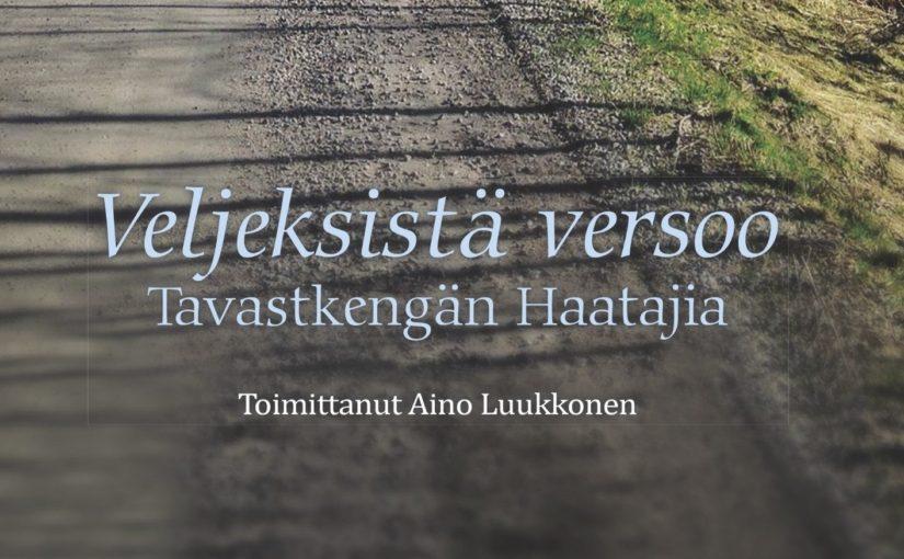 Veljeksistä Versoo – Tavastkengän Haatajia -sukukirjan julkistamistilaisuus 19.11.2017
